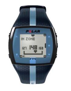 Polar FT4 Heart Rate Monitor,  (Blue/Blue)