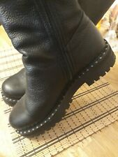 Leather Boots Size 3 Eu 36