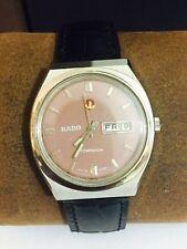 Rado Men's Genuine Leather Strap Wristwatches