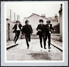 THE BEATLES POSTER PAGE . 1964 FILMING A HARD DAYS NIGHT JOHN LENNON . H35