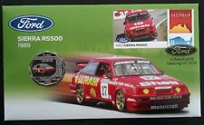 2019 Australia Ford Sierra Rs500 Pnc with 50c Unc coin and $1 stamp