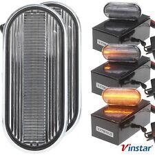 LED Seiten Blinker KLAR für VW Bora Golf 3 4 LUPO Passat 3B Polo 6N 9N T5 Vento