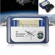 DVB-T SF95DT Mini Digital TV Antenna Satellite Signal Finder Meter w/Compass