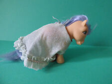 VINTAGE GREEK G1 MY LITTLE PONY MELENIA WITH CLOTHES BY EL GRECO