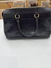 Brahmin Black Leather Handbag