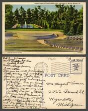 LOUISIANA Baton Rouge house army building store canal VINTAGE POSTCARD