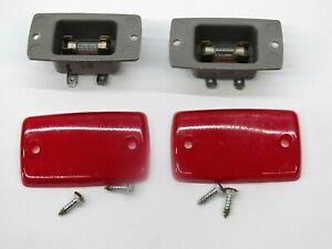 85 86 87 88 89 Nissan 300ZX Left Right Passenger Driver Door Panel Marker Light