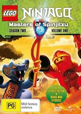 LEGO NINJAGO : SEASON 2 volume 1  - DVD - UK Compatible - sealed