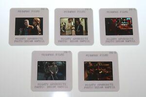 MIGHTY APHRODITE - 5 press kit slides Woody Allen Mira Sorvino Pamela Blair RARE