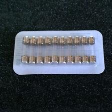LOT DE 20 FUSIBLES - 5x20 - 220V - D1 - MODELE RAPIDE - INTENSITE AU CHOIX