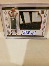 2016-2017 MALCOLM BROGDON NATIONAL TREASURES AUTO RC ROOKIE PATCH 16/25 STAR