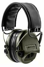 MSA Sordin 75302 Supreme Pro IV Green Cups Leather Headband Non Gel Earpads