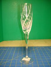 Mikasa Windlass Champange Flute Clear Frosted Swirl New With Tags