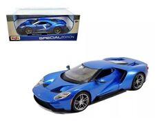 Maisto 2017 Ford GT blu blu metallico blu, 1:18 Tipo 31384