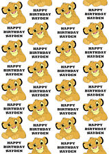 Simba Personalised Gift Wrap - Disney's The Lion King Wrapping Paper - Simba