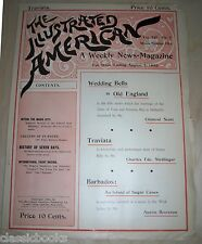 Illustrated American Magazine 1893 Aug 5th MUSEUM FILED  VF