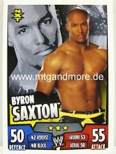Slam Attax Rumble-byron Saxton-NXT