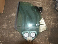 BMW MINI COOPER R57 CONVERTIBLE LEFT SIDE REAR WINDOW MECHANISM WITH MOTOR GLASS