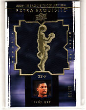 2009-10 Exquisite Extra Rudy Gay Jumbo Patch Card #5/50 Memphis Grizzlies
