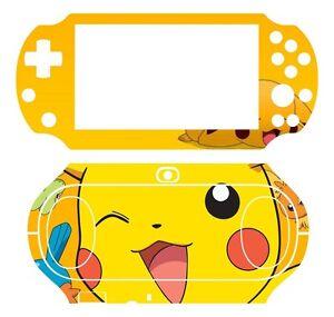 Vinyl Decal Skin Sticker for Sony PlayStation PS Vita PSV 2000 Pikachu P01