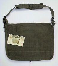 Vintage Paratrooper OD Green Messenger Shoulder Laptop  Bag Rothco 9128