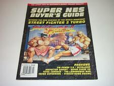 Super NES Buyer's Guide ~ November 1993 ~ Street Fighter II Turbo etc. ~ SNES