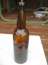 Original Antique Vintage Hoster COL. O. Brown Beer Bottle 1505 good for decor