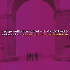 DONALD BYRD/GEORGE WALLINGTON QUINTET/JACKIE MCLEAN - COMPLETE LIVE AT THE CAFE