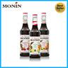 Monin Tea Syrup for flavoring Iced Tea, Lemonade, Soda - Lemon, Peach, Raspberry