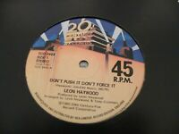 "LEON HAYWOOD DONT PUSH IT DONT FORCE IT  12"" VINYL RECORD"