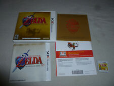 NINTENDO 3DS GAME THE LEGEND OF ZELDA OCARINA OF TIME 3D RPG COMPLETE LINK NES