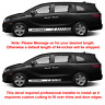 2X Multiple Color Graphics Symbol Racing Vinyl Decal Sticker for Honda Odyssey