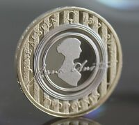 2017 Royal Mint Jane Austen Two Pound £2 Coin BU Brilliant Uncirculated