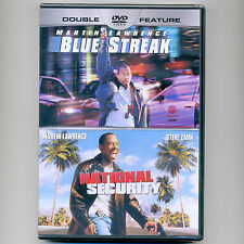 2 Martin Lawrence PG-13 comedy movies: Blue Streak, National Security, new DVD