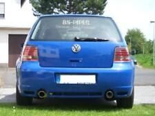 BN Pipes VW Golf 4 Endschalldämpfer, passend in die R32 Schürze