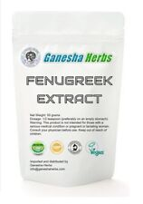 100% pure & organic FENUGREEK Seed 20:1 EXTRACT POWDER 50 grams no capsules