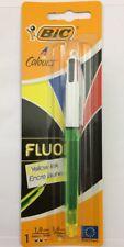 BIC Fluo 4 Colores retráctil Bolígrafo