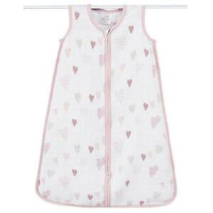 Aden and Anais Heartbreaker sleeping bag 1.0 TOG Small 0-6M SALE! CLEARANCE!