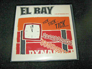 EL RAY – Tick...Tick...Tick... – promo CD – Garage-surf