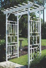 Vinyl arbor for home decor,garden,park,outdoor 20 years warranty