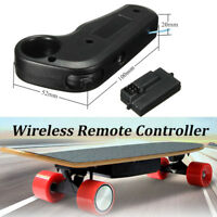 US 2.4Ghz Mini Wireless Remote Controller Receiver Electric Skateboard Longboard