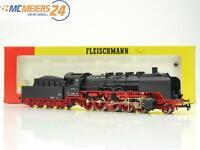 E143 Fleischmann H0 4174 Dampflok Schlepptenderlok BR 50 008 DRG / AC *TOP*