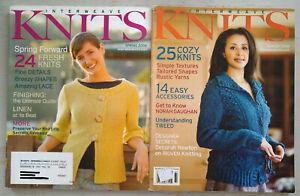 Interweave Knits Magazine, Winter 2008, Spring 2008