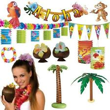 HAWAII DEKO PARTY RIESENAUSWAHL Strandparty Motto Strand Beach Set