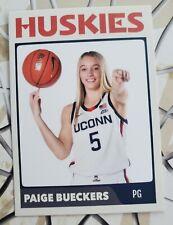 PAIGE BUECKERS UCONN HUSKIES BASKETBALL WNBA DRAFT CUSTOM ROOKIE RC CARD 2020-21