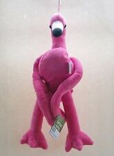 Pink Flamingo Plush Extend A Pull 22 in. Stuffed Animal Toy