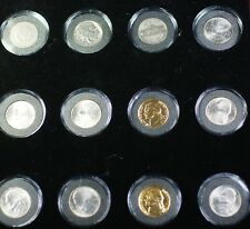 1904-2004 Ultimate Nickel Collection Liberty Buffalo Jefferson Peace 12 Coins