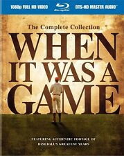 #5 WHEN IT WAS A GAME Complete Collection Brand New Blu-Ray Set FREE SHIPPING