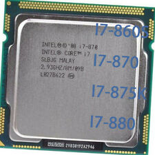 Intel Core i5-680 i5-750 i5-760 I7-860S I7-870 I7-875K I7-880 CPU LGA 1156