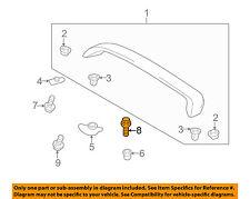 TOYOTA OEM 03-05 Echo Spoiler-Retainer Bolt 9015960385